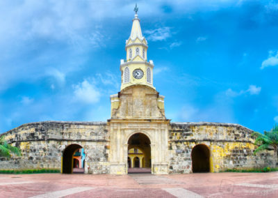 Clock Tower - Cartagena, Colombia